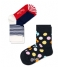 Kids Socks 2-Pack Big Dot