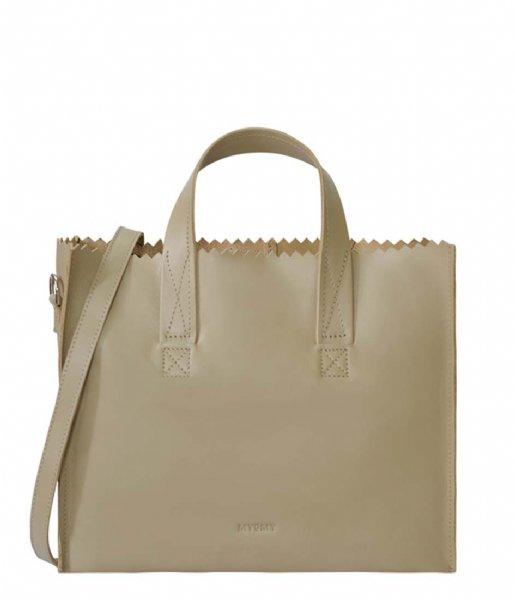 MYOMY  My Paper Bag Handbag Crossbody sand (1067-80)