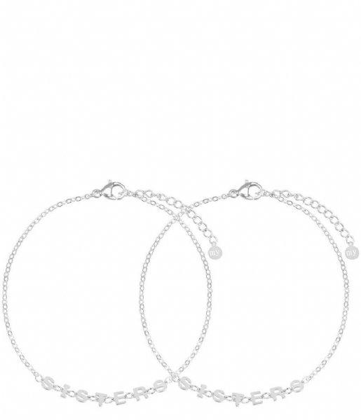 My Jewellery  Armbandje Sisters zilverkleurig (1500)